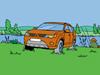 Online omalovánka Mitsubishi Outlander