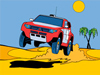 Online omalovánka Mitsubishi Pajero Evo