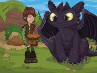 Jak vycvičit draka: Oběd pro Bezzubku