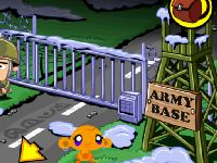 Monkey Go Happy: Army Base