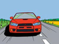 Online omalovánka Mitsubishi Lancer Evolution