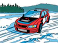 Online omalovánka Mitsubishi Lancer WRC